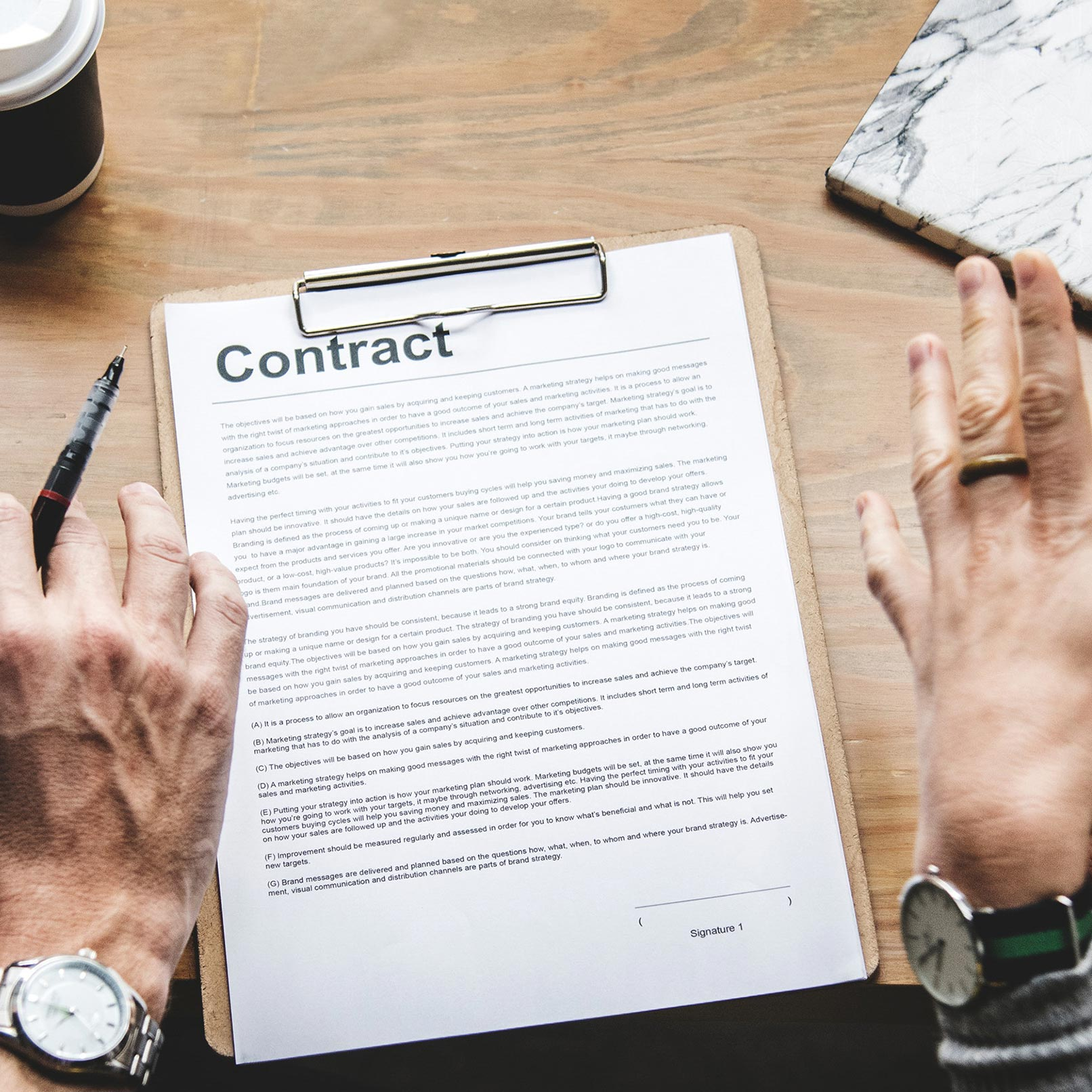 Picture of Contract Management